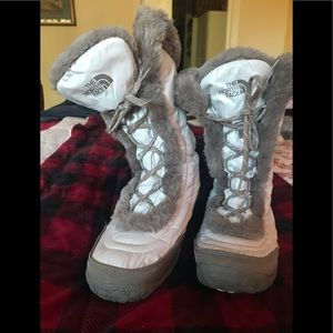 The north face women's boots-size 9